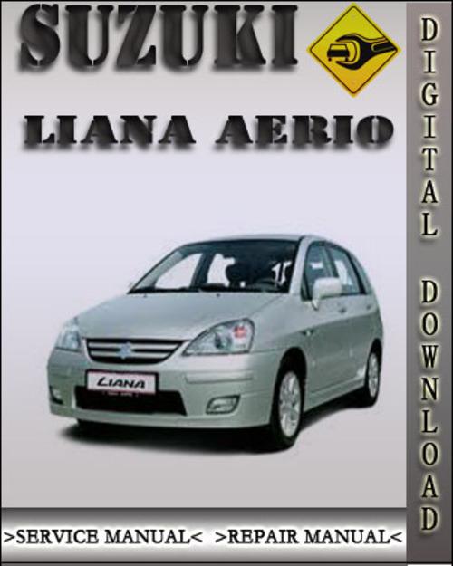 2002 suzuki liana aerio factory service repair manual download ma rh tradebit com repair manual suzuki liana Suzuki Liana 2015