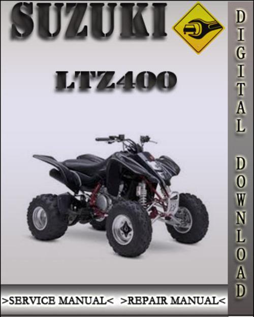 2003 suzuki ltz400 factory service repair manual. Black Bedroom Furniture Sets. Home Design Ideas