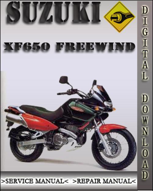 Suzuki xf 650 1996-2006 factory service repair manual download pdf.