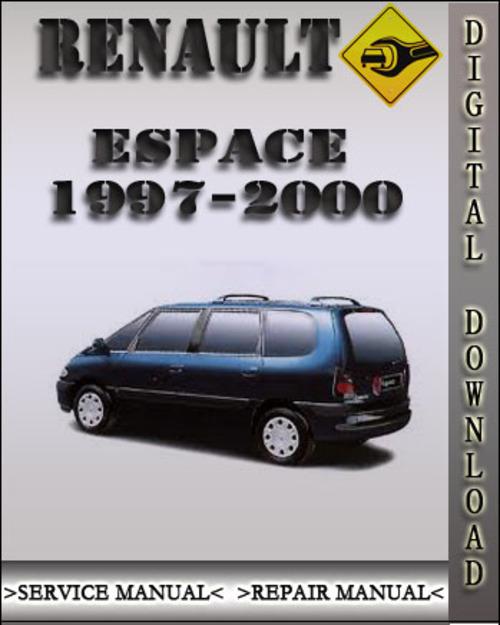 1997 2000 renault espace factory service repair manual 1998 1999 pay for 1997 2000 renault espace factory service repair manual 1998 1999 publicscrutiny Choice Image