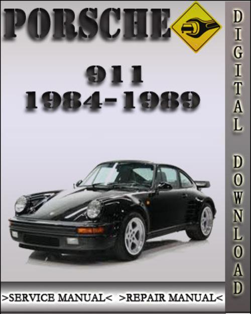 porsche 911 service manual