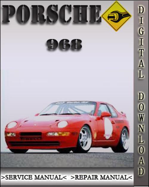 porsche 968 1995 factory service repair manual