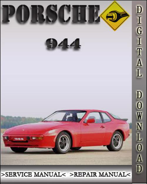 porsche 944 factory service repair manual download