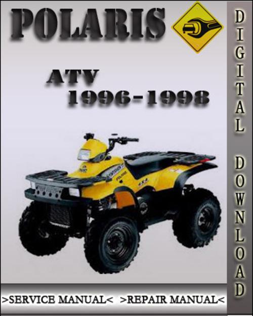 polaris atv trail boss 1996 1998 full service repair manual