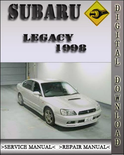 1998 subaru legacy factory service repair manual. Black Bedroom Furniture Sets. Home Design Ideas