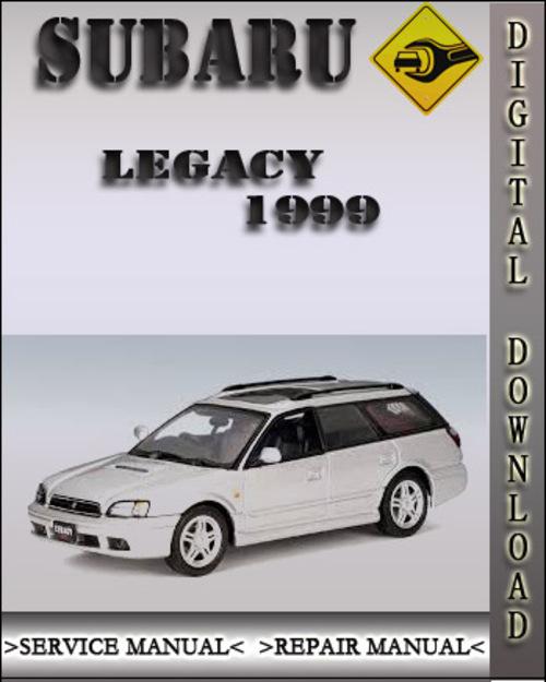 1999 subaru legacy factory service repair manual. Black Bedroom Furniture Sets. Home Design Ideas