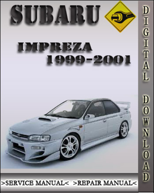 1999 2001 subaru impreza factory service repair manual 2000 downl rh tradebit com Subaru Impreza Manual Transmission 2000 subaru impreza workshop manual