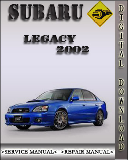 2002 subaru legacy vvti engines repair manual service. Black Bedroom Furniture Sets. Home Design Ideas