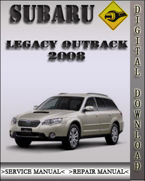 2005 Subaru Outback Service Manual