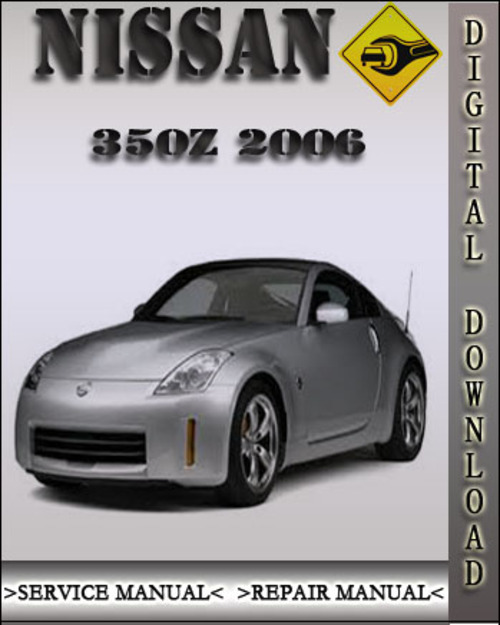 service manual pdf 2006 nissan 350z repair manual. Black Bedroom Furniture Sets. Home Design Ideas