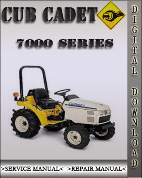 Cub Cadet 7200 : Cub cadet series compact tractor factory service