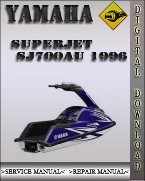 1996 Yamaha Superjet SJ700AU Factory Service Repair Manual