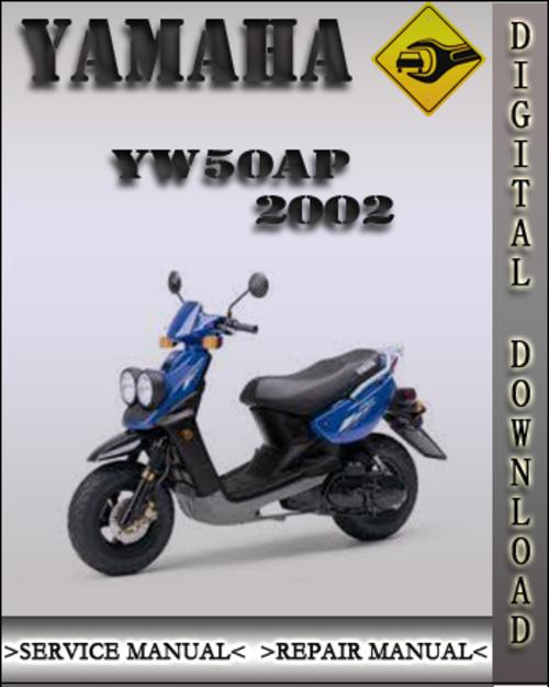 2002 Yamaha Yw50ap Factory Service Repair Manual