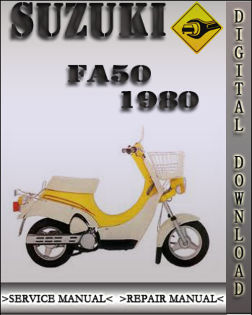 1980 suzuki fa50 factory service repair manual download. Black Bedroom Furniture Sets. Home Design Ideas