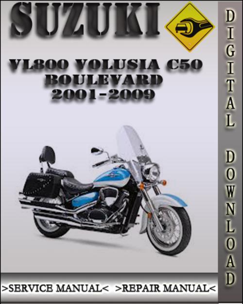 Suzuki Boulevard C50 Owners Manual