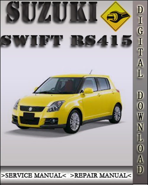 2004 suzuki swift rs415 factory service repair manual download ma rh tradebit com Suzuki Quadrunner 250 2002 Suzuki 250 Motorcycle