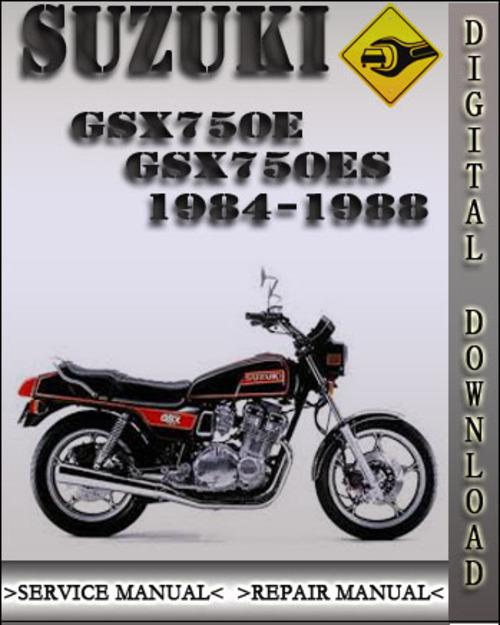 1984 1988 suzuki gsx750e gsx750es factory service repair manual 198 rh tradebit com Suzuki Gsx- S750 suzuki gsx 750 es workshop manual