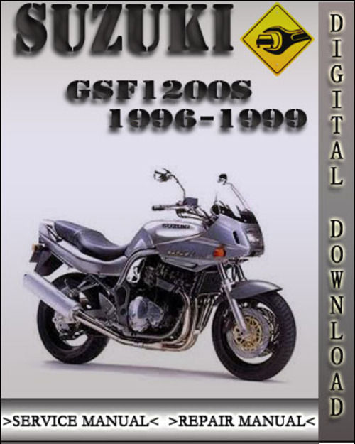 Pay for 1996-1999 Suzuki GSF1200S Factory Service Repair Manual 1997 ...