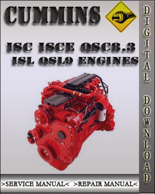 Cummins Isc Isce Qsc8 3 Isl Qsl9 Engines Troubleshooting