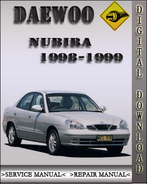 daewoo nubira 1998 service manual berray. Black Bedroom Furniture Sets. Home Design Ideas