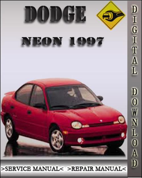 1997 Dodge Neon Factory Service Repair Manual