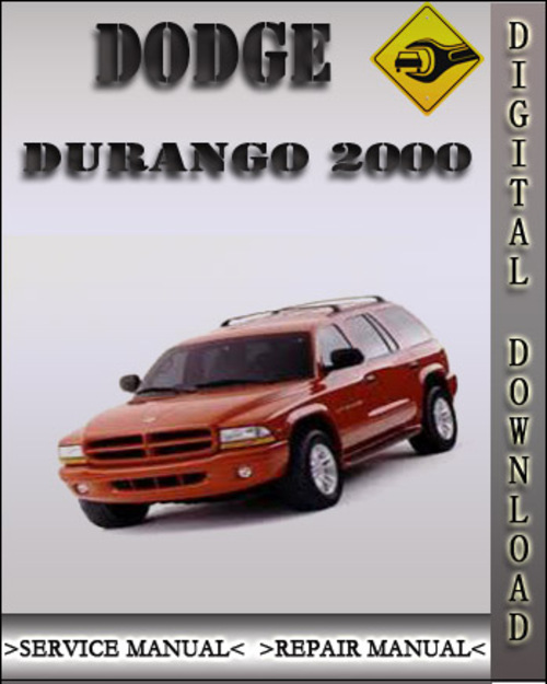 2003 Dodge Durango Factory Service Manual