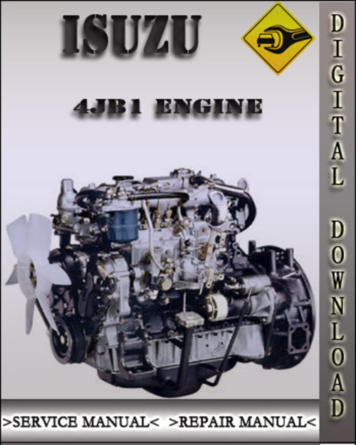 isuzu 4jb1 4ja1 4jb1t 4jb1tc engine factory service repair manual rh tradebit com Isuzu Rodeo 1988 Isuzu Trooper