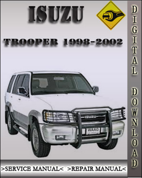 1998 2002 isuzu trooper factory service repair manual 1999 2000 200 rh tradebit com 2000 Mazda MPV Repair Manual 2000 isuzu trooper service manual pdf