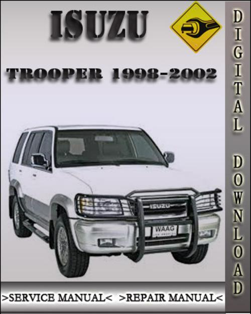 1998-2002 Isuzu Trooper Factory Service Repair Manual 1999 ...