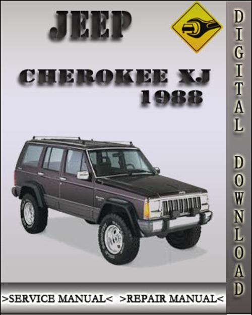 1988 jeep cherokee xj factory service repair manual download manu rh tradebit com 1990 Jeep Cherokee Jeep Cherokee 1985