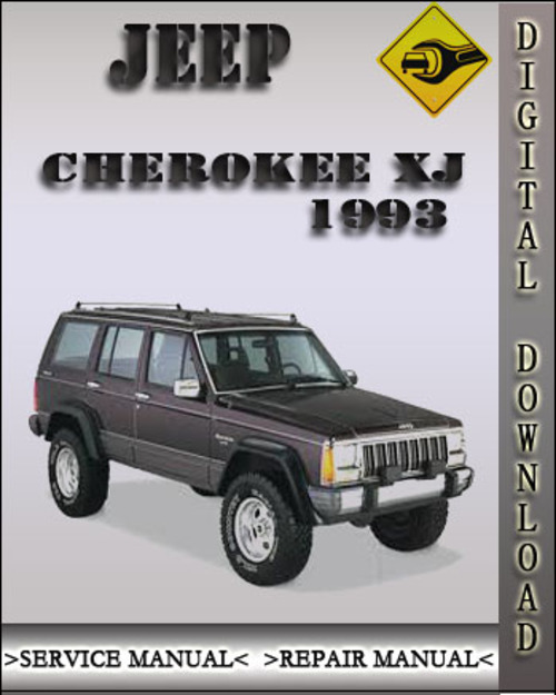 1993 jeep cherokee xj factory service repair manual. Black Bedroom Furniture Sets. Home Design Ideas
