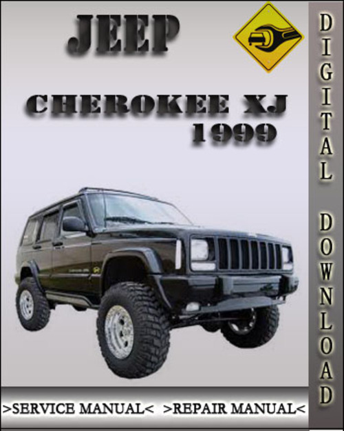 1999 jeep cherokee xj factory service repair manual. Black Bedroom Furniture Sets. Home Design Ideas