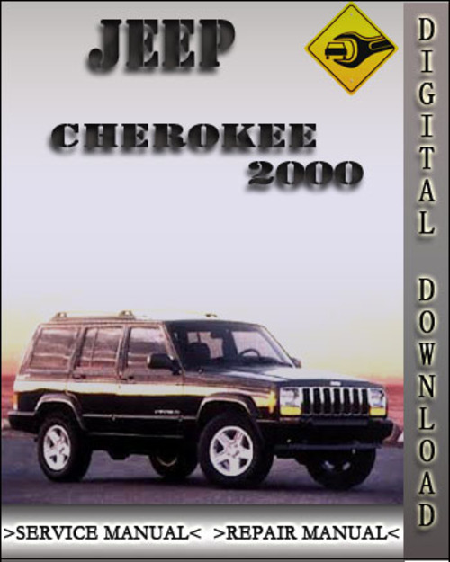 2000 jeep cherokee factory service repair manual. Black Bedroom Furniture Sets. Home Design Ideas