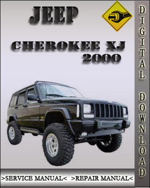 2000 jeep cherokee xj factory service repair manual. Black Bedroom Furniture Sets. Home Design Ideas