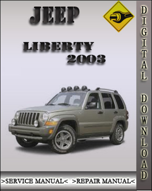 Pay For 2003 Jeep Liberty Factory Service Repair Manual