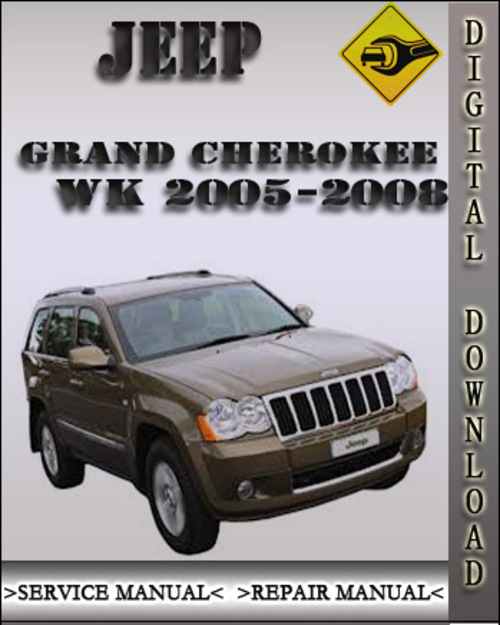 jeep grand cherokee wk service repair manual 2005 pdf. Black Bedroom Furniture Sets. Home Design Ideas