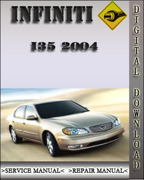 Service Manual [2004 Infiniti I Factory Service Manual