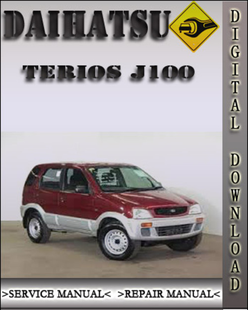 1997 daihatsu terios j100 factory service repair manual download rh tradebit com Suzuki Jimny Daihatsu Sirion