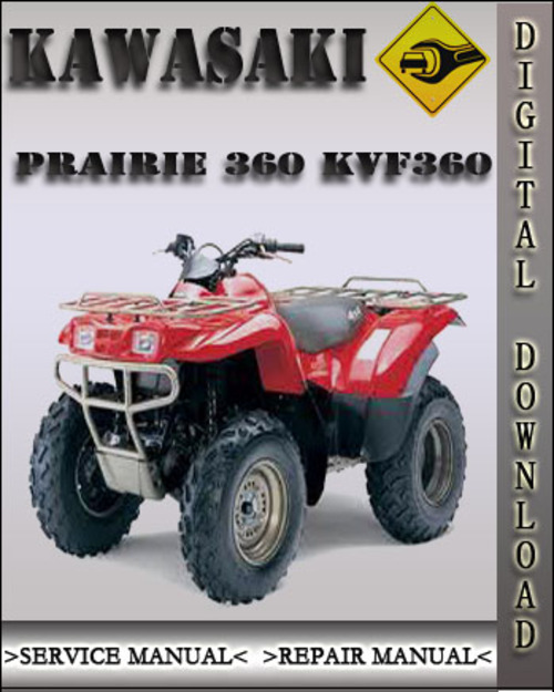 kawasaki prairie 360 kvf360 factory service repair manual downloa rh tradebit com kawasaki prairie 360 4x4 service manual kawasaki kvf 360 repair manual