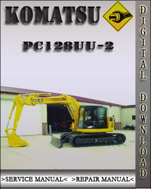 komatsu pc128uu 2 factory shop service repair manual download man rh tradebit com Owner's Manual Owner's Manual