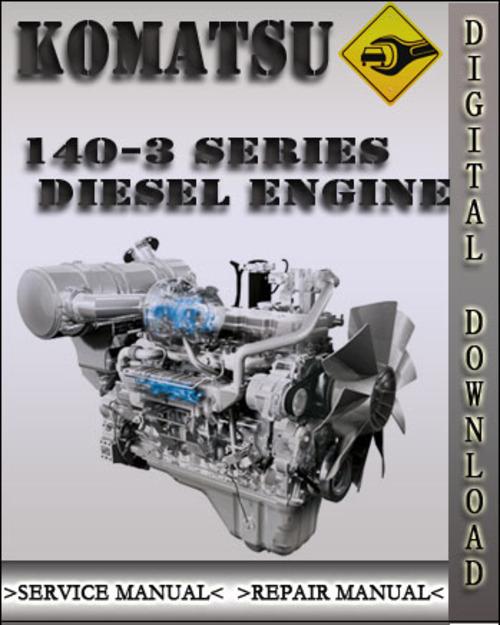 komatsu 114e 3 diesel engine service repair manual. Black Bedroom Furniture Sets. Home Design Ideas