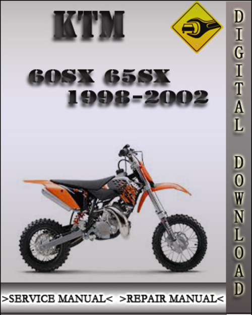 1998-2002 ktm 60sx 65sx engine factory service repair manual 1999 2