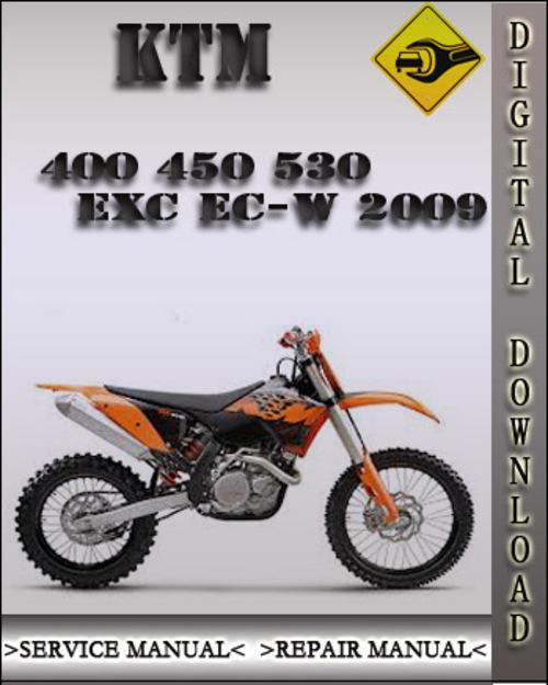 2009 Ktm 400 450 530 Exc Ec