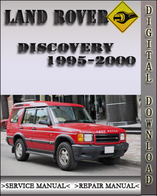 1995 2000 land rover discovery factory service repair. Black Bedroom Furniture Sets. Home Design Ideas