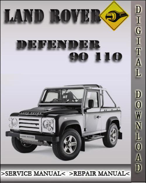 1983-1990 Land Rover Defender 90 110 Factory Service