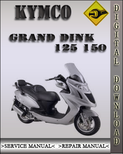 kymco scooter service manual grand dink 125 and 150 repair. Black Bedroom Furniture Sets. Home Design Ideas