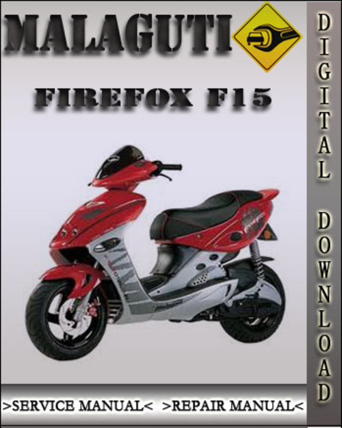 manual malaguti firefox f15