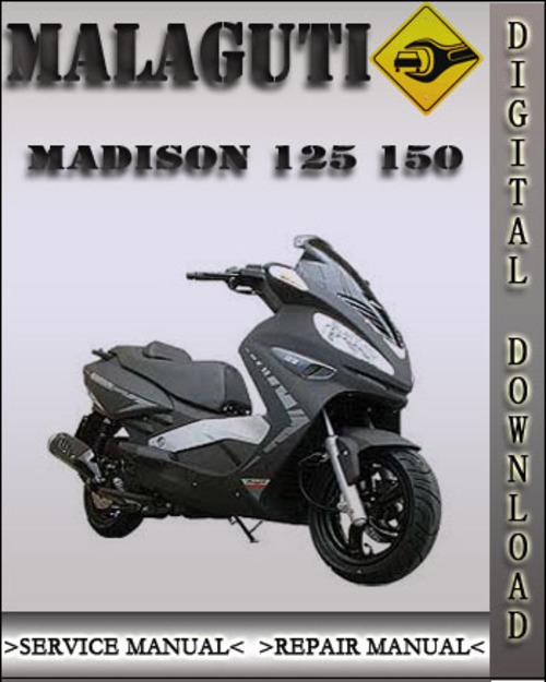 malaguti madison 125 150 factory service repair manual download m rh tradebit com
