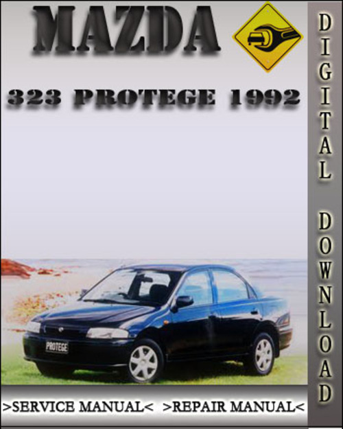1992 mazda 323 protege factory service repair manual. Black Bedroom Furniture Sets. Home Design Ideas