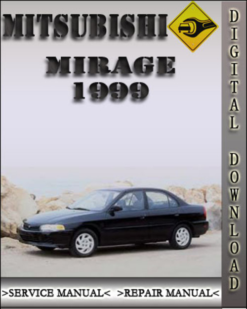 manual for 1999 mitzubishi mirage